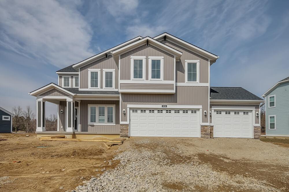 Preston 2344e CFGV38 2 - Custom Homes in Michigan